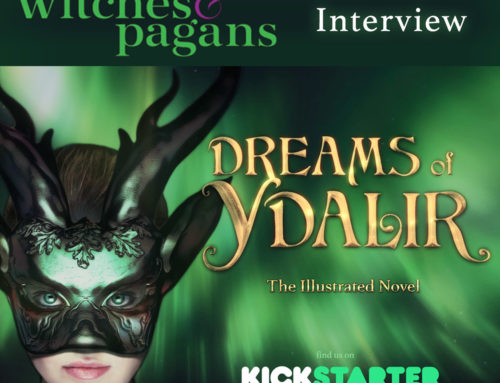 Interview on Witches and Pagans about Dreams of Ydalir