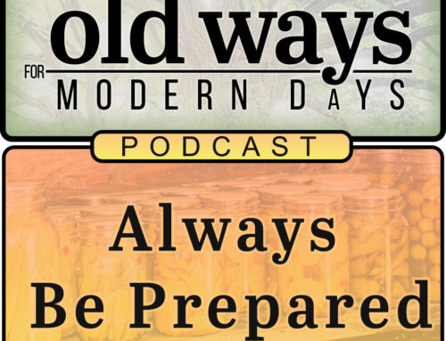 Always Be Prepared (Food Security) – Podcast